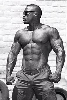 黑人肌肉男帅哥图片