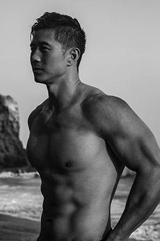 肌肉帅哥peter le最新写真资源图片
