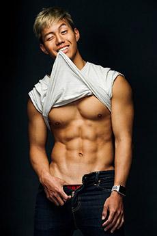 肌肉帅哥腹肌摄影写真图片