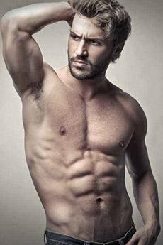 欧美性感肌肉男写真图片