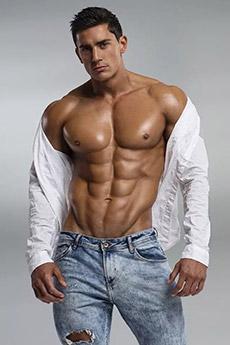 性感迷人的欧美帅气肌肉男帅哥写真图片
