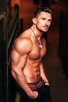 欧美健美肌肉男帅哥图片