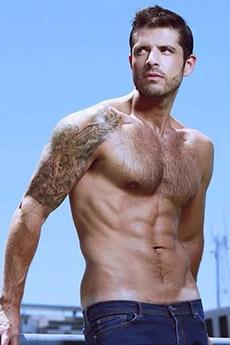 性感乌克兰男模Diego Arnary诱人写真图片