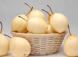 一组各个种类的梨子特写图片欣赏