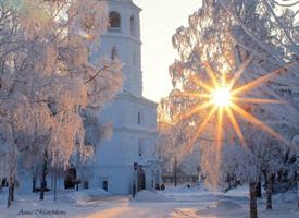 一组美丽的清新雪景图片欣赏