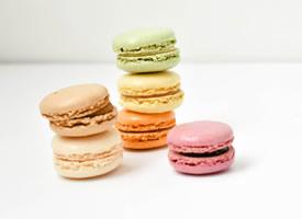 一組美麗的甜點馬卡龍圖片欣賞