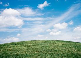 蓝天白云唯美风景图片桌面壁纸