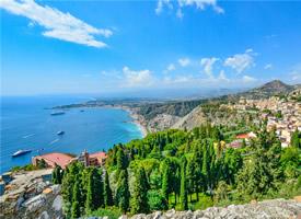 意大利西西里岛美景高清桌面壁纸
