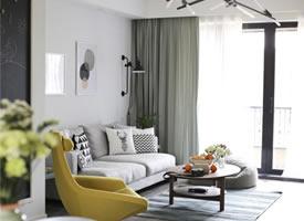 简约家居设计,仅用一点微妙的色彩,但却质感丰富