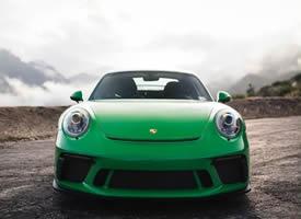 一只绿色小青蛙 GT3 911.2图片欣赏