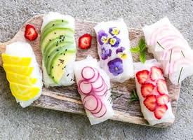 一组超美的冰冻蔬菜图片欣赏