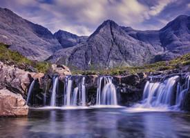 一组唯美瀑布自然风光高清图片欣赏