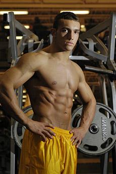 欧美肌肉型男帅哥图片