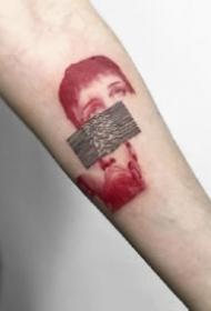 治愈系的18张小清新纹身刺青图案