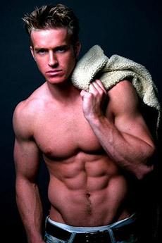 欧美模特肌肉帅哥图片