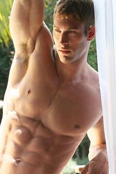 性感美国肌肉帅哥写真图片