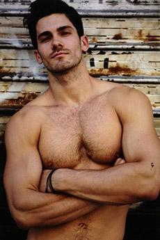 欧美肌肉型男帅哥写真照片