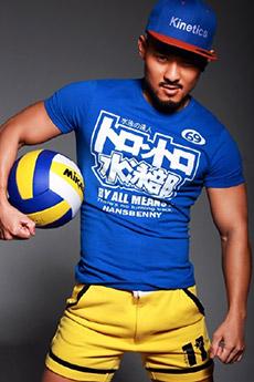 中国排球帅哥写真照片