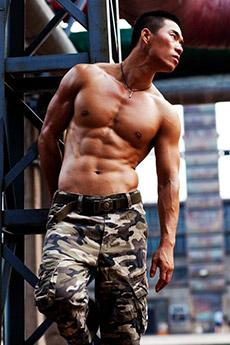 肌肉男照片帅哥外拍写真集