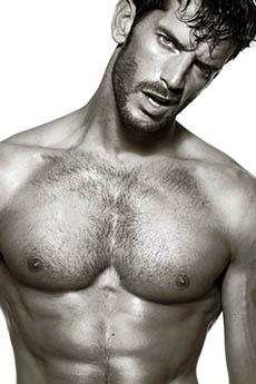 肌肉欧美男模Oliver Baggerman裸上半身照片
