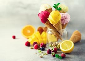 一組美味可口的甜點圖片欣賞