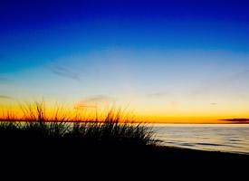 唯美迷人的黄昏风景图片桌面壁纸