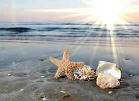 唯美迷人海边风景图片桌面壁纸