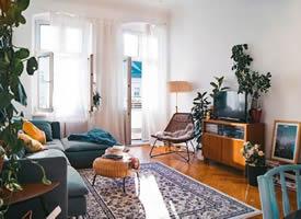 陽光與陽臺并存的理想家居裝修效果圖