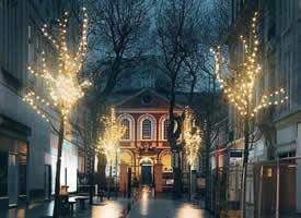 一組唯美的城市夜晚風圖片欣賞