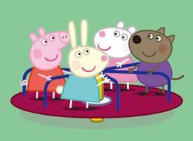 一组超级可爱的小猪佩奇图片欣赏