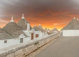 意大利Alberobello,童話般的村莊