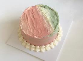 ins上人气很高的极简风格生日蛋糕