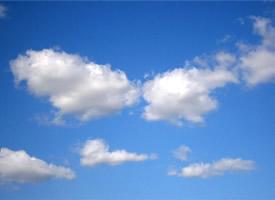 一组蓝天白云唯美高清图片欣赏