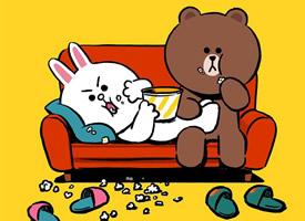 可爱布朗熊手机壁纸图片欣赏