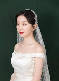 一组简约美丽的韩式新娘发型