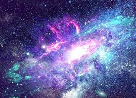 璀璨星河唯美高清桌面壁紙