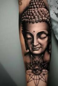 佛紋身:莊嚴肅穆的9張佛像紋身圖案