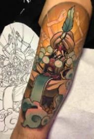 7张守望先锋游戏的英雄纹身图案