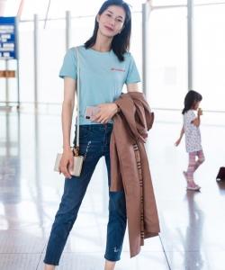 彭杨时尚休闲机场照图片
