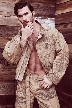 性感迷人的美国大兵照片