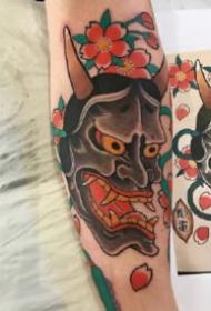 般若刺青:傳統風格的9款般若紋身圖案