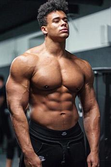 歐美型男硬漢肌肉寫真照片