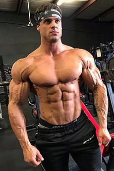 歐美肌肉型男Logan Franklin性感肌肉寫真大片