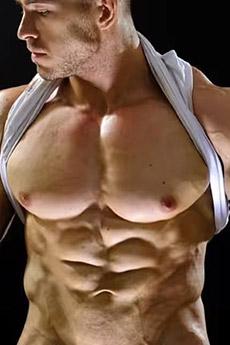 欧美硬汉风格型男秀肌肉艺术照片