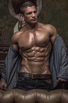 欧美男神肌肉男艺术照片