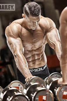 欧美健身模特型男性感照片