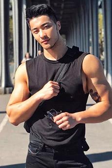 中国男模樊野写真图片