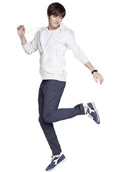 人氣極高的韓國的明星帥哥李敏鎬寫真照片集