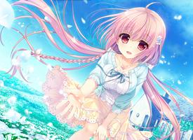 一组甜美动漫美女萝莉图片