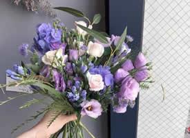 为准新娘们预备的仙气捧花